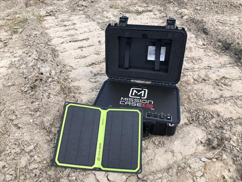 Flymotion Mission case LTE solar panel