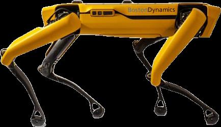 Boston Dynamics Spot Yellow Side Angel